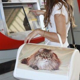 Transporting personalizado con la fotografía de tu mascota. Distintos tamaños, tanto para gato como para perro  #regalospersonalizados #regalosmascotas #portage
