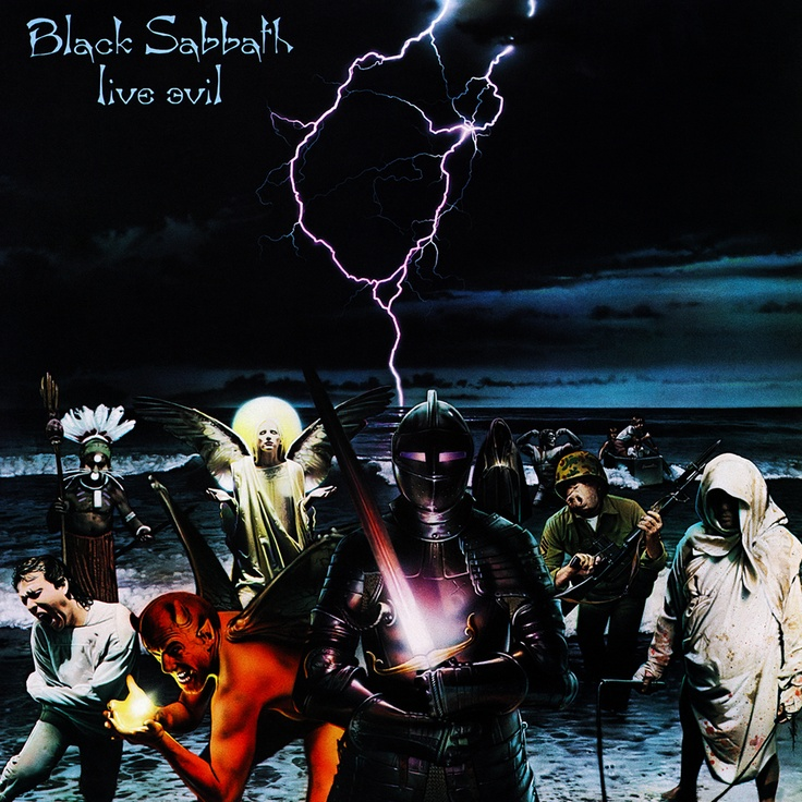 Black Sabbath - 1982 - Live Evil with Ronnie DIO..............