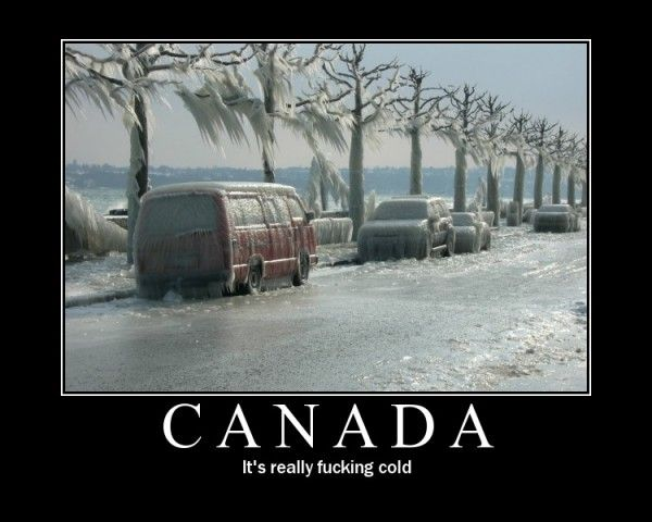 Funny Canada - Snow And Cold (2)