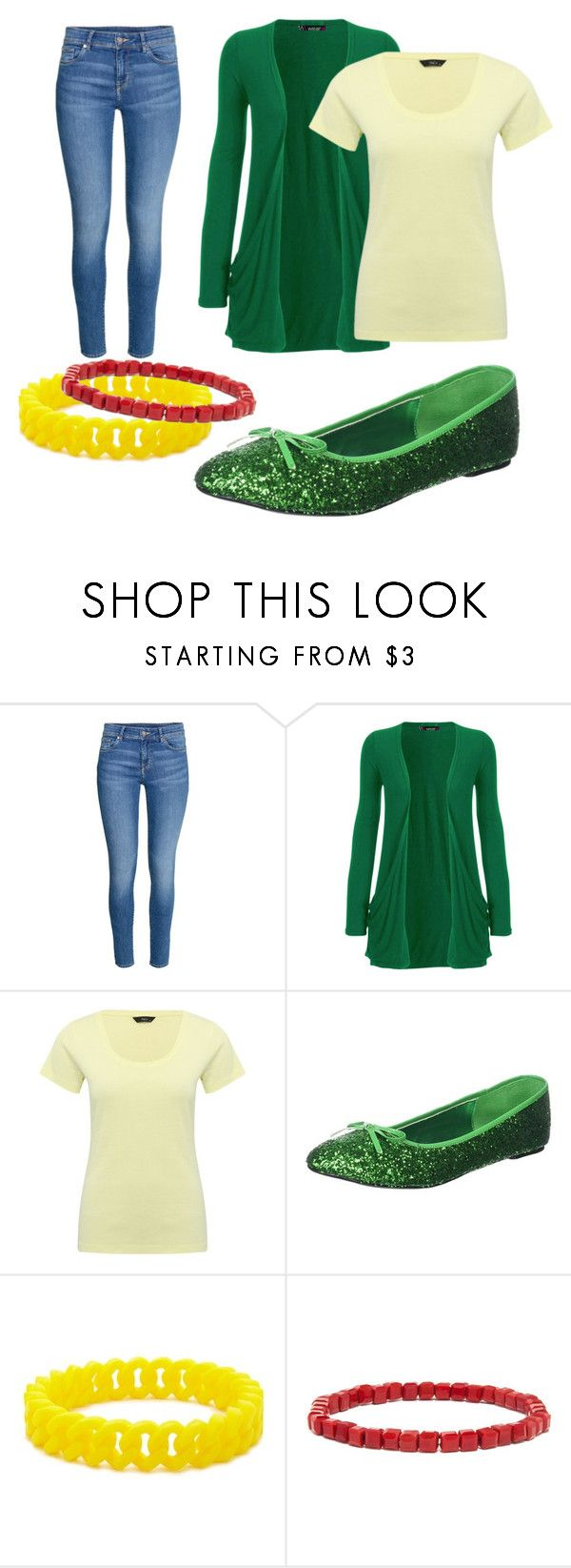 """""""Diamond Lil - Nolan"""" by wishbone454 on Polyvore featuring WearAll, M&Co, Pleaser, Forever 21 and BaubleBar"""