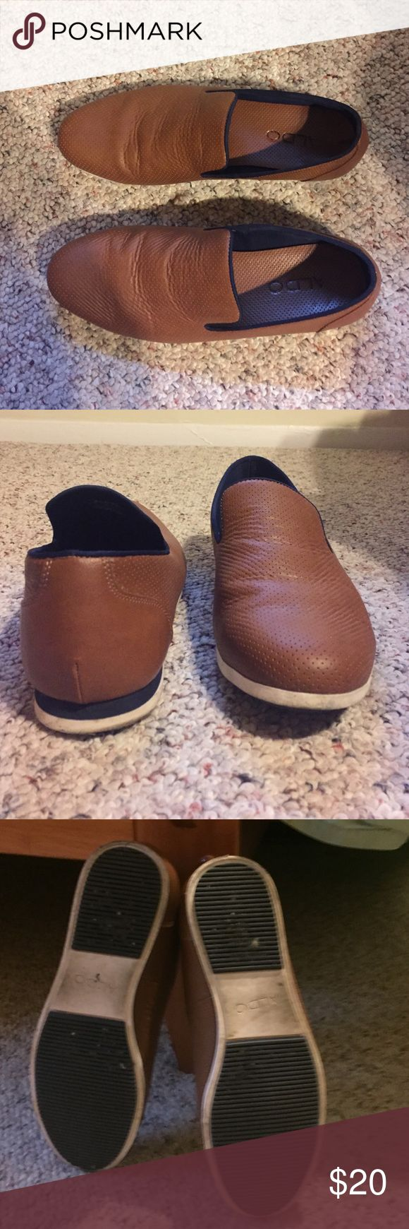 Aldo Loafers Men's Size 8 Also Loafers men's size 8. Have been worn 2-3 times. No original box. Very comfortable and cute shoes! Aldo Shoes Loafers & Slip-Ons