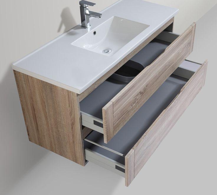 </br>  <p><i><b>Produktbeskrivelse:</b></i></p>  <p> Lind Forest er et moderne baderomsmøbel med enkel minimalistisk keramisk servant i 120 cm bredde. Med to skuffer vil det være god plass til oppbevaring. Møbelskap i rustikk lys eik, gir inntrykk av tres