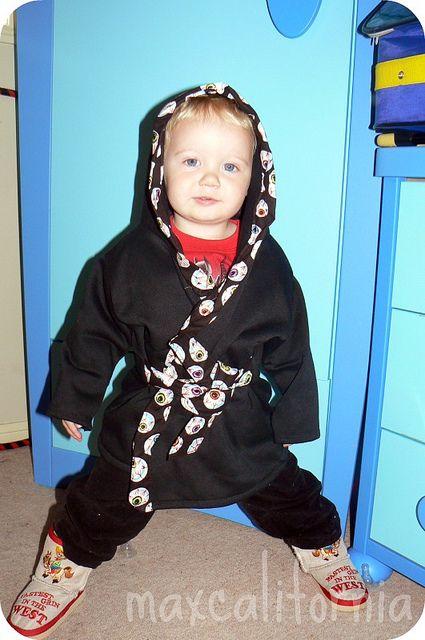 """Tutorial DIY bathrobe """"Dressing Gown! by Max-California, via Flickr"""""""
