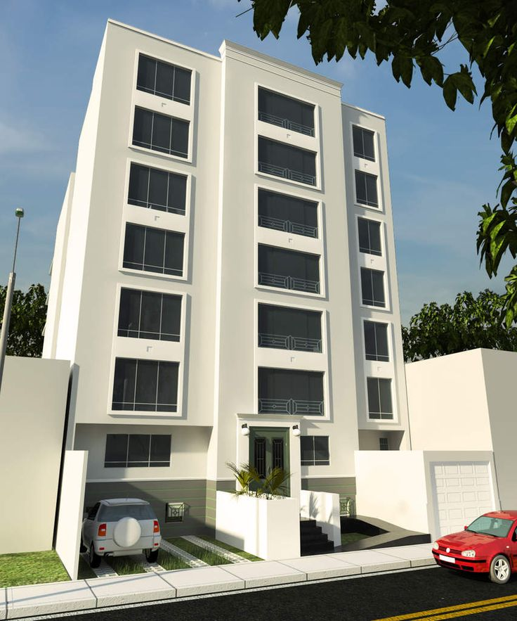 Modelos de edificios de 3 pisos buscar con google for Edificios minimalistas