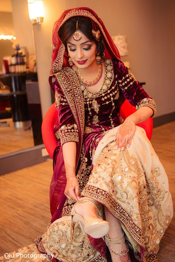Punjabi Suit Cute Girl Wallpaper This Beautiful Pakistani Bride Gets All Dolled Up For Her