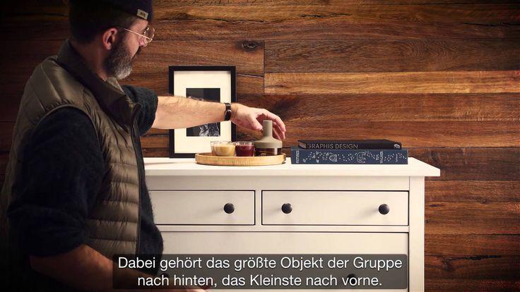 Echtholz Wandboard Fur Fernseher Wohnzimmer : Schlafzimmer Kommode ...