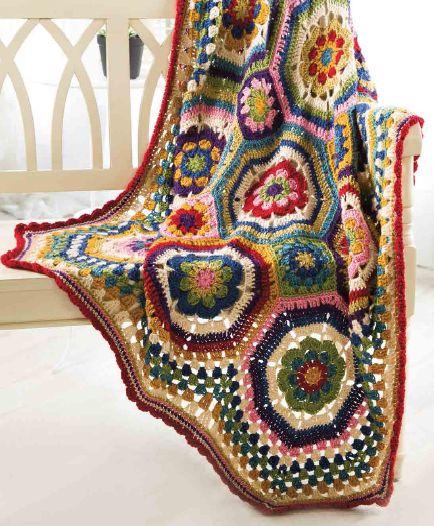 josettacay: Octie Throw from Crochet Magazine, Autumn, 2014