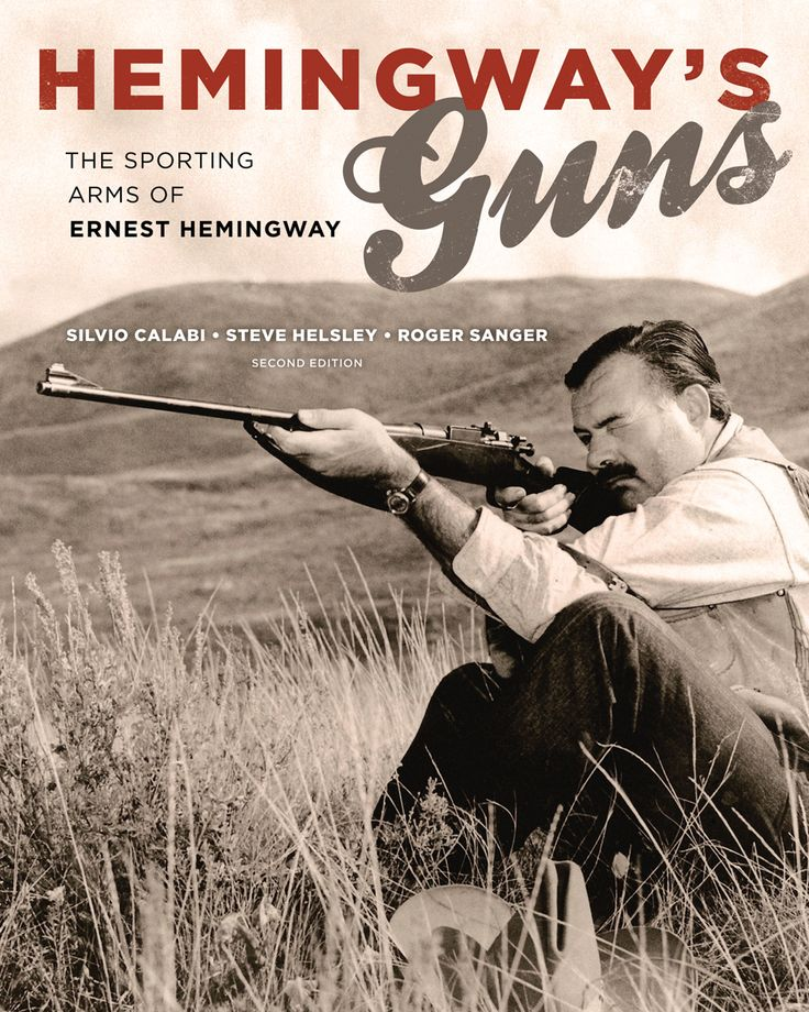 Hemingway's Guns is a great book for any Hemingway fans and fans of classic firearms. Beautifully illustrated with over 100 photographs of Hemingway, his family and his collection. Available to BUY now http://ow.ly/BOEe30bZL3l