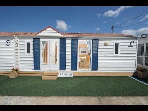 Τροχοβίλα Louisiane, γαλλικής κατασκευής, 32τμ 2 υπνοδωματίων, πλήρως εξοπλισμένη με σαλόνι, κουζίνα, μπάνιο & wc