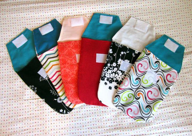 Diaper clutches + tutorials