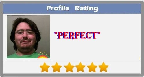 Check my results of Find your profile rating Facebook Fun App by clicking Visit Site button