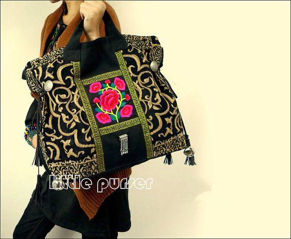 Hand Made Tasche / Stickerei Beutel/schräg über die Tasche/Casual Taschen/Fashion Tasche/Travel Paket/Dual-purpose Tasche/Shop Beutel/Frauen Tasche