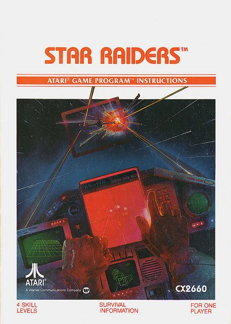 #Atari - Star Raiders #gaming #gamer