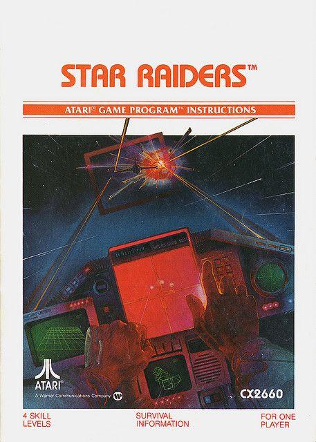 #Atari - Star Raiders #gaming #gamer
