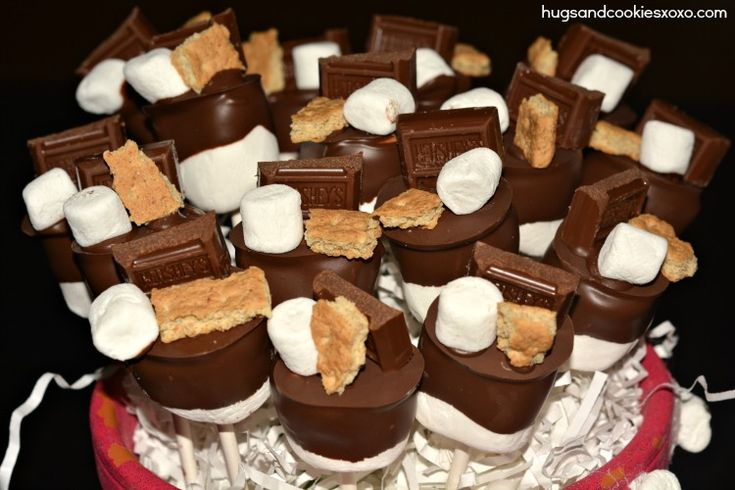 S'mores Triple Layer Cake, S'mores Cookies & S'mores Pops ...