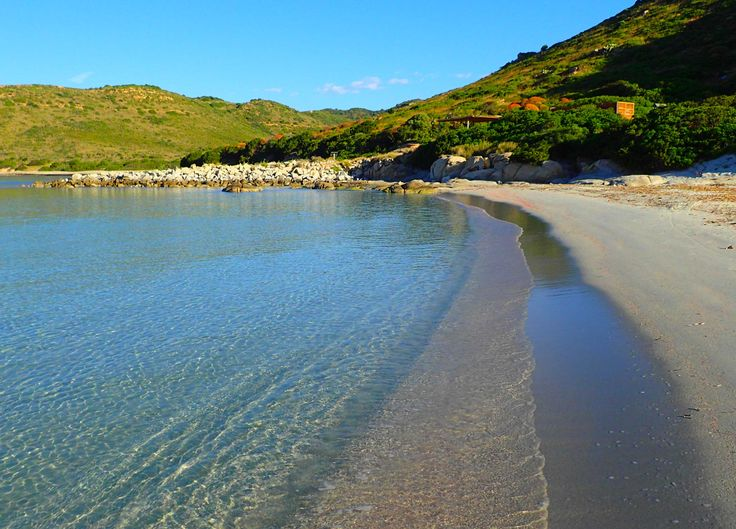 The #sea of #PuntaMolentis in the south of #Sardinia, #Italy.  #photo by #LaVilladelRe #hotel