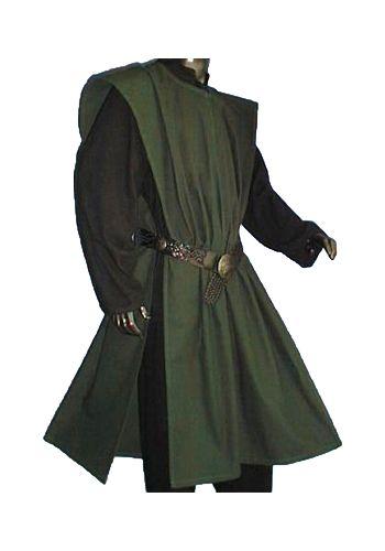 Wappenrock Unifarben, Grün von Inter-Moden