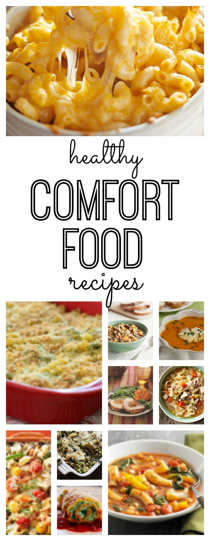 Healthy Comfort Food Recipes | The winter, My life and Recipes