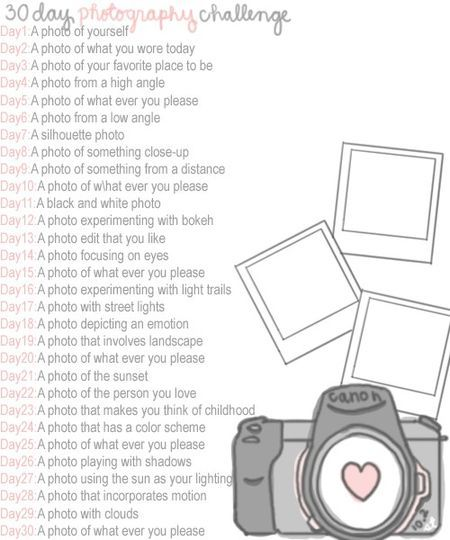a photo challenge...30 Day Challenges, Photography Challenges, Fun Challenges, Photography Projects Ideas, Creative Photography Ideas, Photos Challenges Ideas, 30 Day Pictures Challenges, Photo Challenges, Photography Blog Ideas