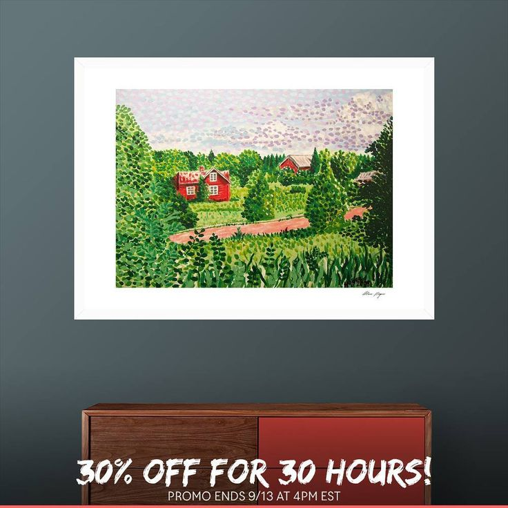 ...I'm happy to offer 30% OFF items on my CURIOOS shop, for 30 hours only! Use code 30FOR30.  This promotion ends on 13/9/2017 at 4 PM EST.   @curioos #art #artist #hoganfinland #konst #taide #konstnär #artcollection #åland #landscape #artcollectors #gallery #finnishlandscapes #finland  #finearts #fineart #artist_sharing #artsy #artcollective #artistlife #artlife #curioos #worldofartists #supportart