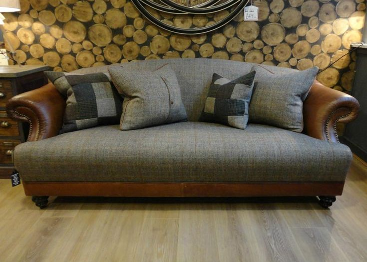 Tetrad Harris Tweed Taransay sofa Collection - Bracken from George Tannahill & Sons - tannahillfurniture.co.uk