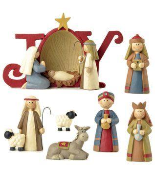 Joy Nativity, 7 Pieces