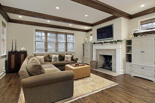 Wood Ceiling Beams, Rectangular