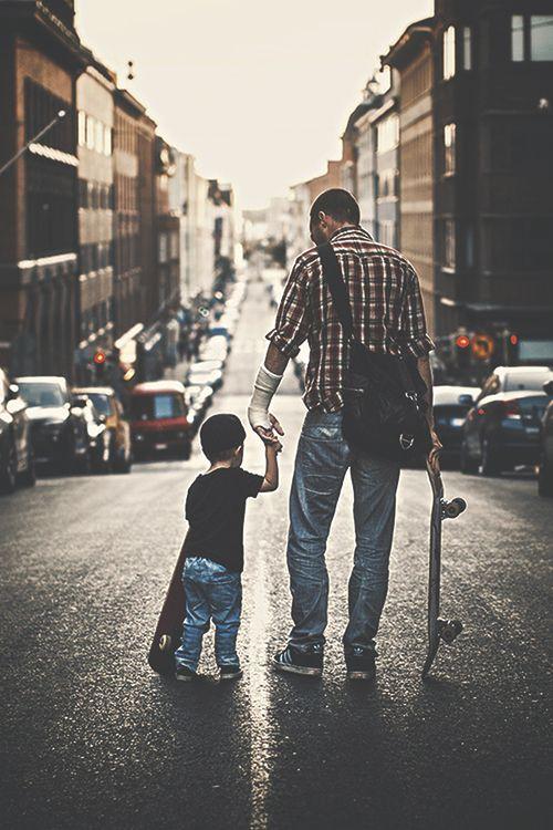 "worldfam0us: "" Father & Son | WF """