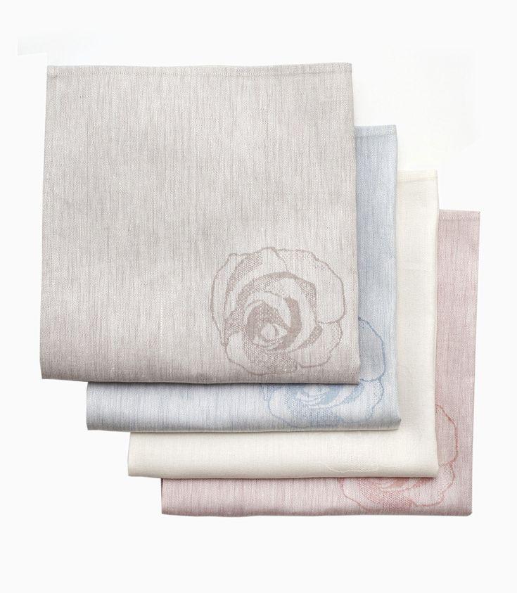 100 RUUSUA servietti,Suunnittelija Dora Jung
