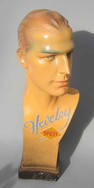 vintage harley sport male mannequin bust crazy for vintage mannequins pinterest harley. Black Bedroom Furniture Sets. Home Design Ideas