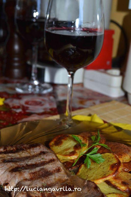 Antricot de vitel la tigaia-grill