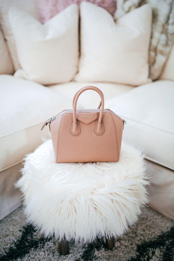 Faux Fur Stool, Givenchy Mini Antigona Bag, Haute Off The Rack, Designer  Handbag