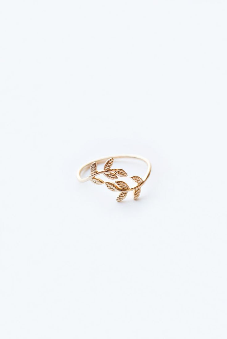 Morning Lavender, dainty jewelry, gold rings, leaf ring, stackable rings