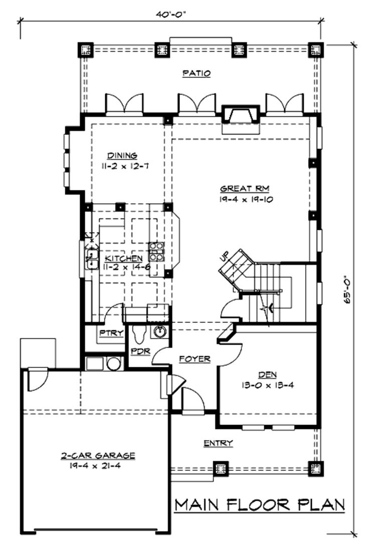 56 best floor plans images on pinterest craftsman homes