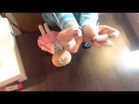 Мастер класс по созданию текстильной куклы. Часть 3