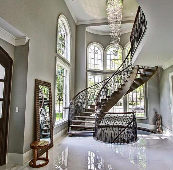 Luxury Homes Foyer 364 best stairways | entrances | foyers images on pinterest