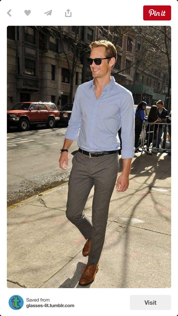 Pict j ferrar modern fit 1 - Ferrar Modern Fit Men Dress Pants J Ferrar Modern Fit Men Dress Pants Color Grey Size Like New Only Worn Once J