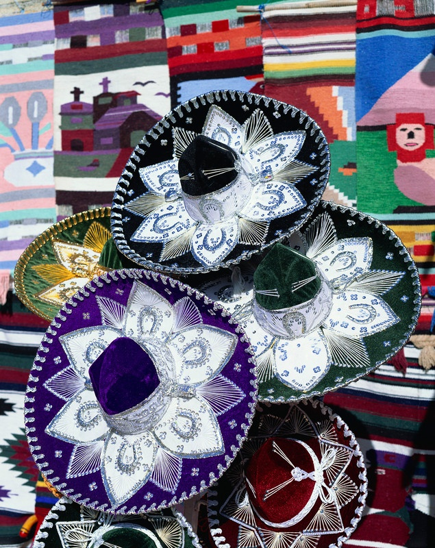 Colorful Mexican Sombreros