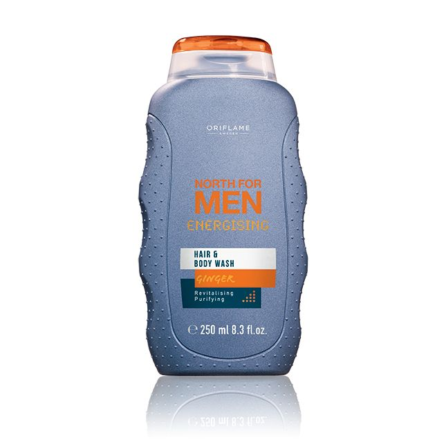 North for Men Energising -hius & vartalopesuneste #oriflame