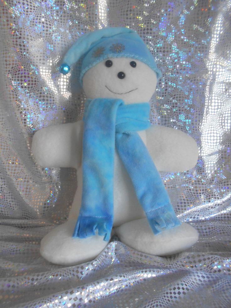 Stu the Snowman Christmas Decoration Doll