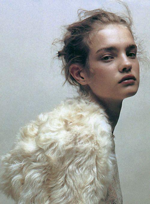 """hedi-slimane:  Numéro Nº37,""""Doux Comme Un Agneau"""", Natalia Vodianova photographed byJean Baptiste Mondio, 2002"""