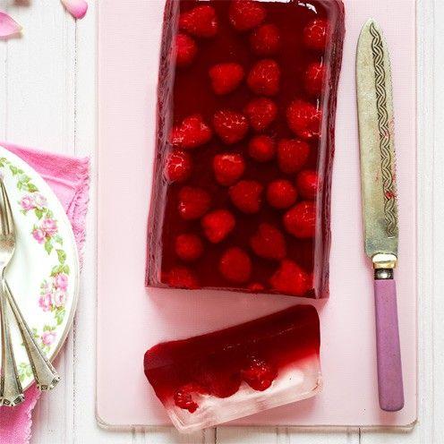 Homemade Raspberry and Elderflower Jelly