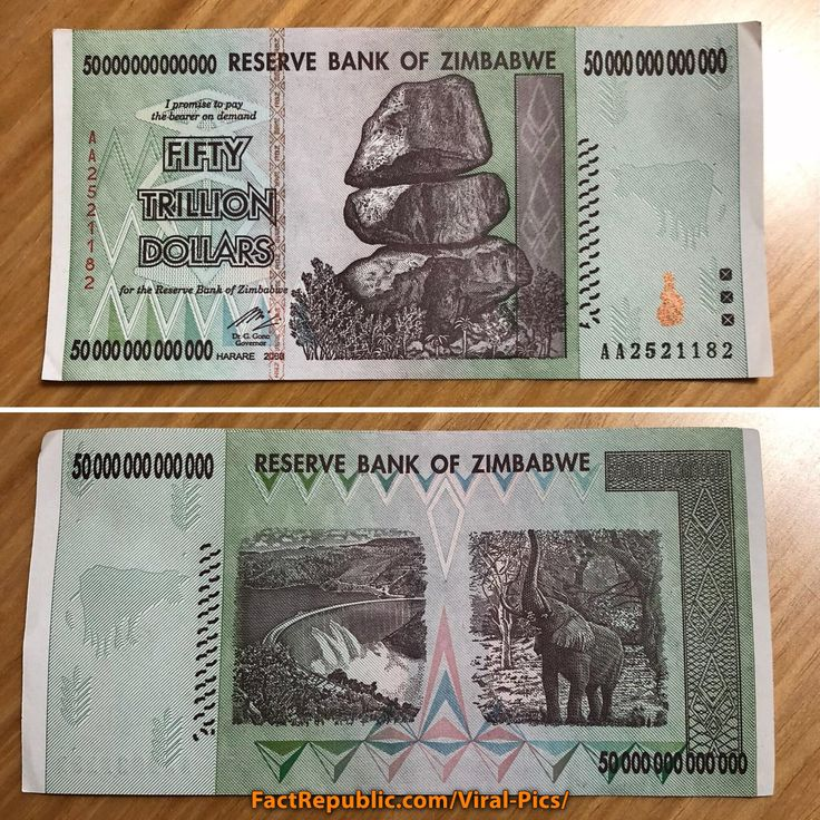 Fifty trillion dollar bill. Zimbabwe or as it was known, Rhodesia was once the breadbasket of Africa, the best farmland for thousands of miles. But poor leadership who led. Click on the image for more information.  #money #bill #dollars #zimbabwe #photography #facts #knowledge