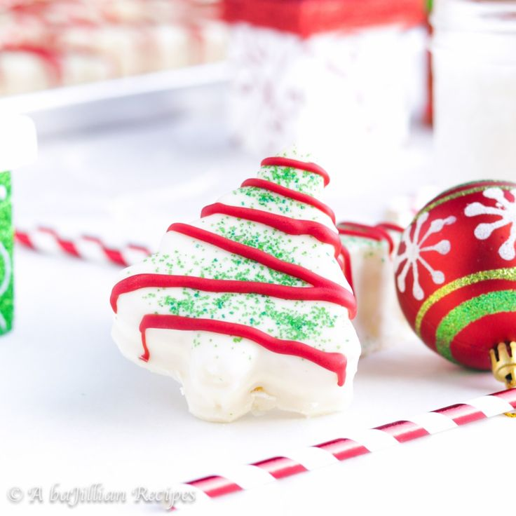 Christmas Tree Snack Cakes (Little Debbie Copycat