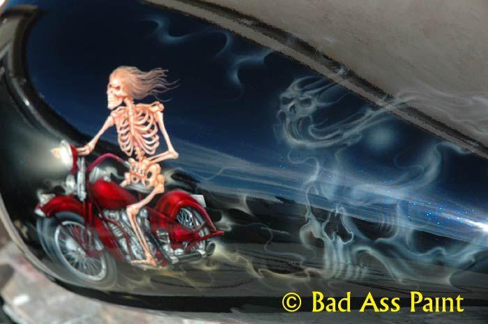 the ghost skull, not bike