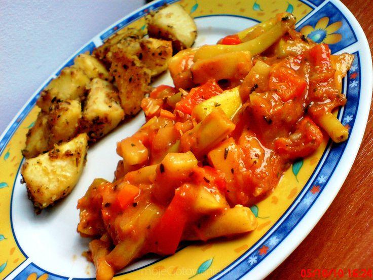 Warzywny gulasz z cukinią karita