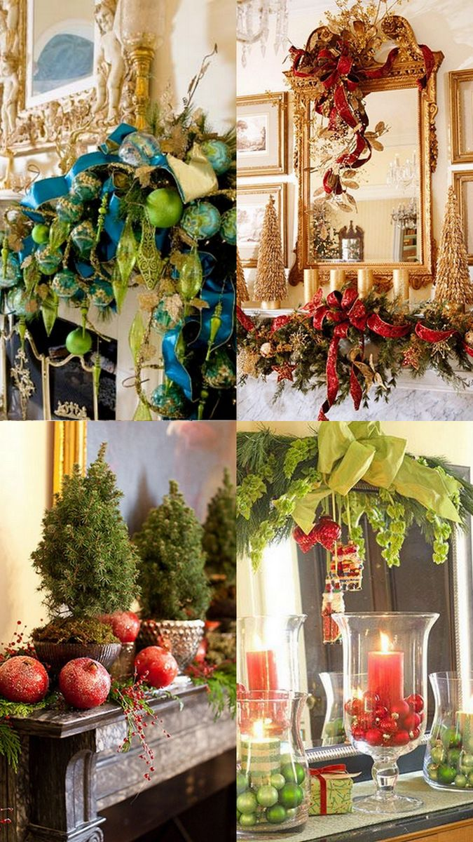 A Whole Bunch Of Christmas Mantels 2013