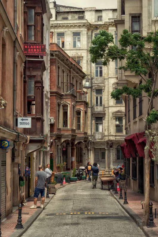 Asmalımescit, Istanbul