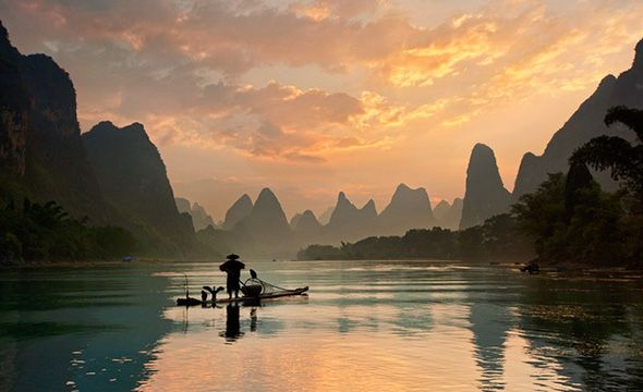 Ποτάμι Li, Kίνα