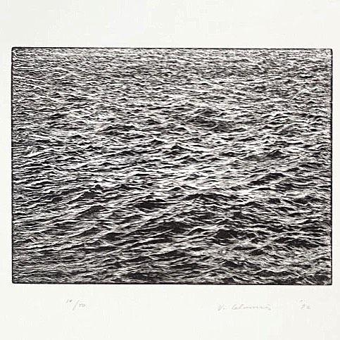 Ocean Surface 1992 Woodcut print #vijacelmins #oceansurface #woodcut #woodcutprint #realism #photorealism #art #artist #contemporaryart #해양표면 #우드컷 #목판화 #포토리얼리즘 #현대미술 #아트 #작가 #아티스트 #커뮤니티 #아트플랫폼 #piqob #피콥